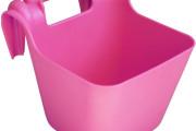 Futtertrog mit Einhängebügel 13 lit. pink