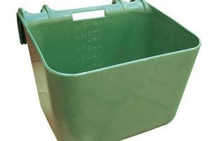 Futtertrog mit Einhängebügel 30 lit. grün