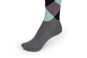 PIKEUR Reiter Socken Karo