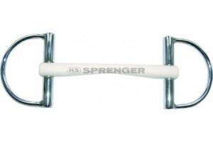 SPRENGER Duo D Ringgebiss 16 mm Kunststoff mit Stahlseele
