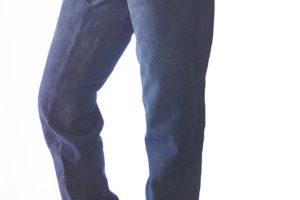 Western-Chaps Wildleder XL schwarz
